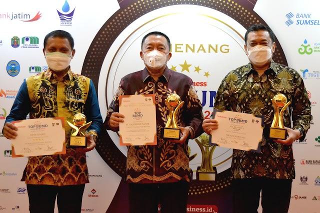 Reputasi Bank Kalsel Harumkan Daerah, Raih Anugerah Pembina, TOP BUMD & CEO Terbaik Nasional