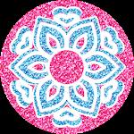 Glitter Coloring Icon