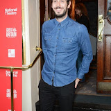 WWW.ENTSIMAGES.COM -   Blake Harrison  arriving  at     Great Britain - press night at Theatre Royal Haymarket, London September 26th 2014West End Opening at Theatre Royal Haymarket for Richard Bean's GREAT BRITAIN -  Play about an ambitious tabloid editor in production described as anarchic satire about the press, the police and the political establishment.                                                    Photo Mobis Photos/OIC 0203 174 1069