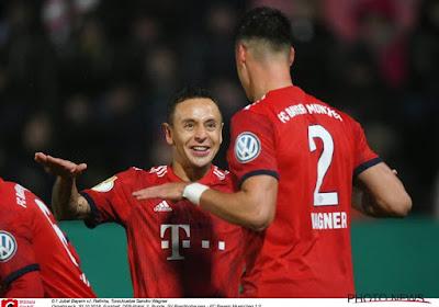 Le déguisement déplacé d'un joueur du Bayern pour Halloween