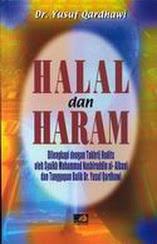beli buku halal dan haram yusuf qardhawi rumah buku iqro best seller rabbani press