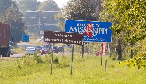 mississippi state sign
