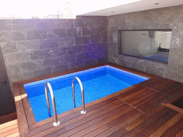 Alba piscinas com piscinas en espacios reducidos for Piscinas en espacios muy pequenos