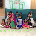 Eid Celebration by Nursery Section ( 2016-17) at Witty World, Bangur Nagar on 5th July, 2016