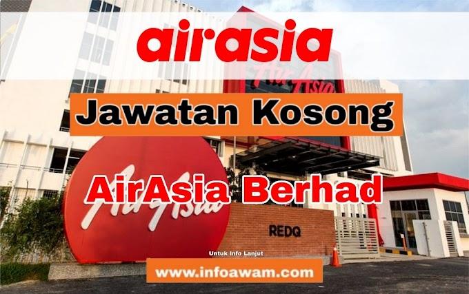 75 Jawatan Kosong Terkini Di AirAsia Berhad