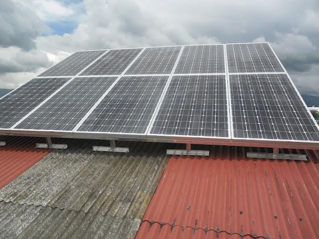 Installed Solar PV system