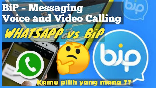 Bahasa aplikasi akun BiP