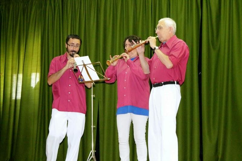 Audició Escola de Gralles i Tabals dels Castellers de Lleida a Alfés  22-06-14 - IMG_2387.JPG