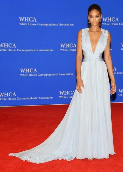 Chanel Iman attends the 101st Annual White House