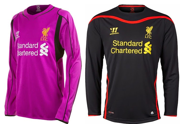 All 3 Liverpool 2014-2015 Kits (Released)