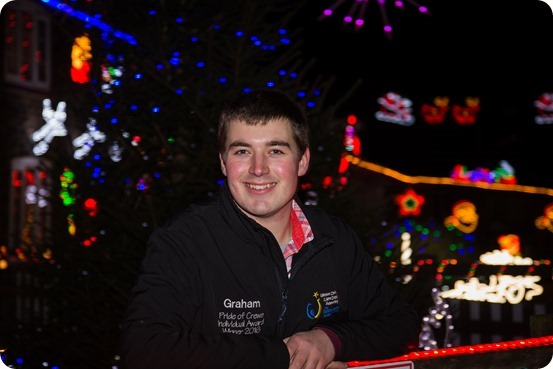 Publicity photo - Weston Christmas Light Display 2018 - Graham Witter