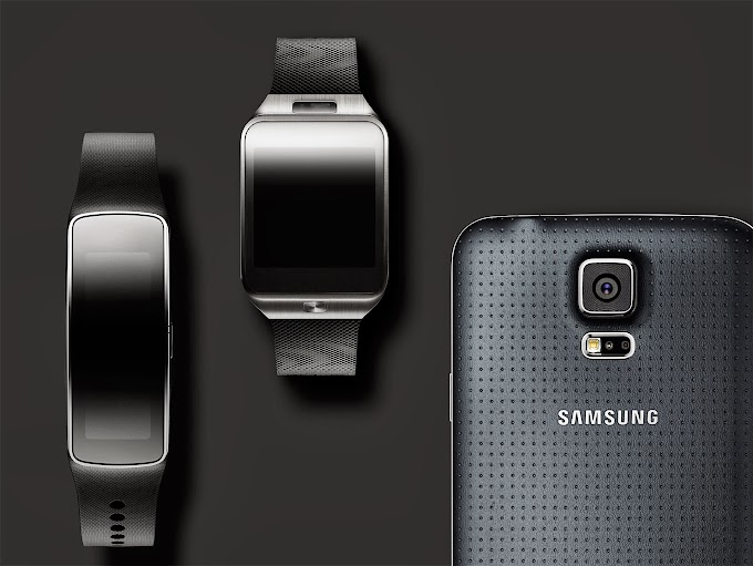 Samsung Galaxy S5, Gear 2 and Gear Fit - Hands On videos
