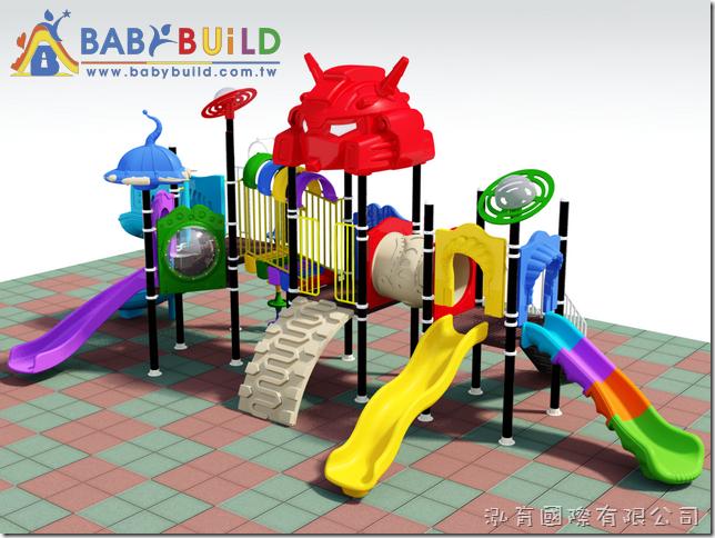BabyBuild 機器人主題風格遊具