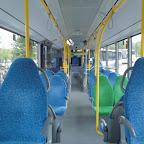 Het interieur van de Mercedes-Benz Citaro van Syntus bus 5211 als lijn 3 naar Veldhuizen