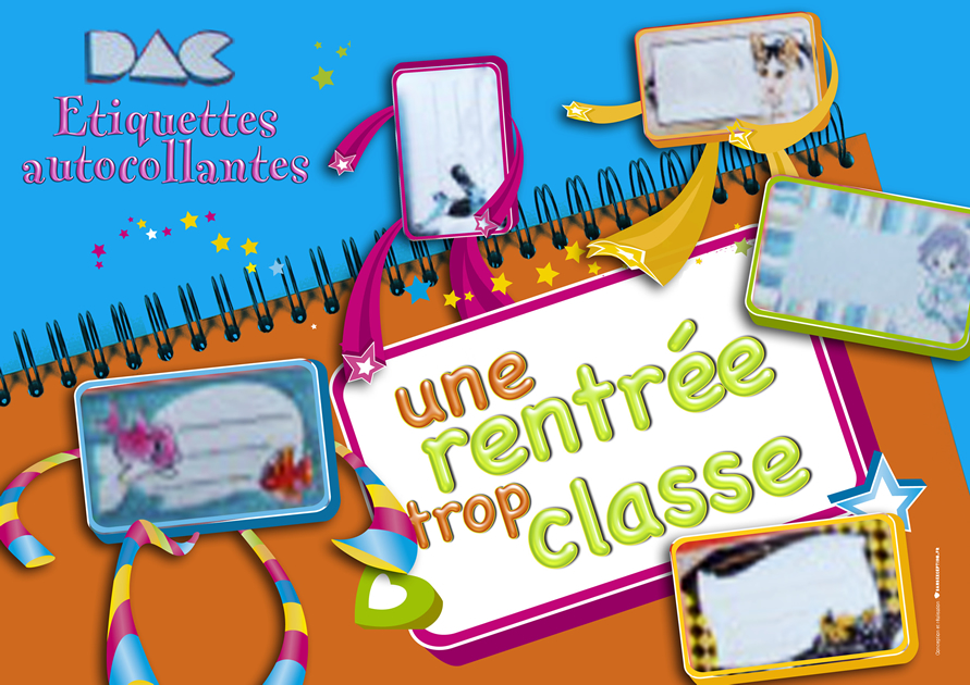 DAC etiquettes Fronton Rentree Des Classes 2 -SansException