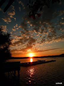 2009/9/9の夕日です。雲の表情が印象的です。