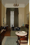 My hotel room at the Grand Hotel, Kraków