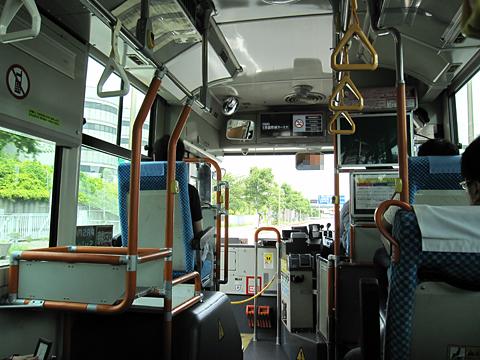 羽田京急バス「蒲95シャトルバス」 2294 車内