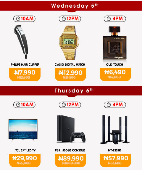Jumia Turns 5 Today And They're Selling Products At Almost 60% Discount 2