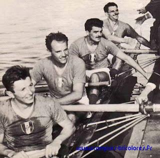 1956-La saison de l'équipe de France d'aviron