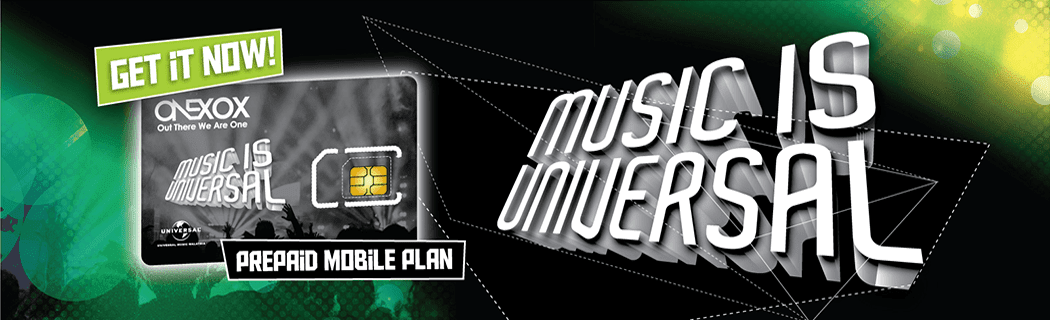 ONEXOX Plan ONEMUSIC Pack