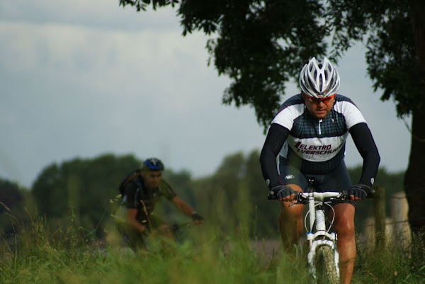 Mountainbike tijdens Roeselare Fietst