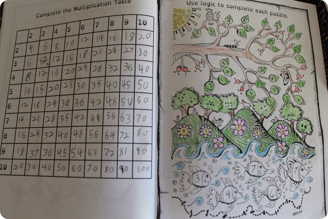 The Thinking Tree Do-It-Yourself Homeschooling Multiplication Games