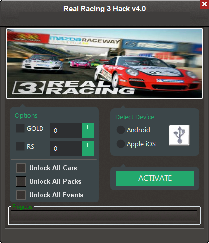 Real Racing 3 No Survey Hack