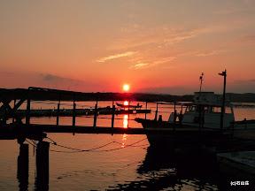 2009/9/13の夕焼けです。空気といい空の感じといい。もう秋です。