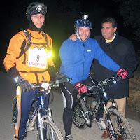 INVIERNO 2008 GANADORES - 1ª carrera de orientación Nocturna