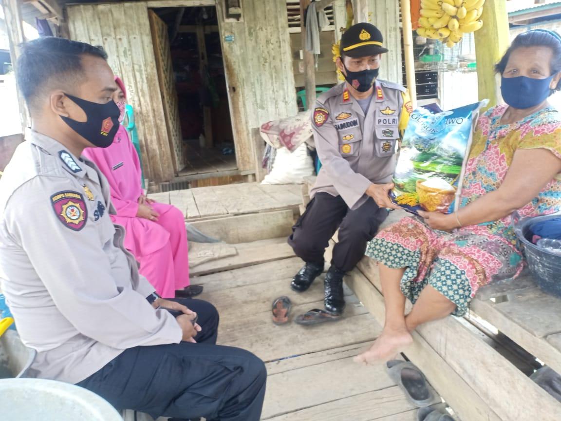 Polsek Lilirilau Polres Soppeng Giat Bakti Sosial