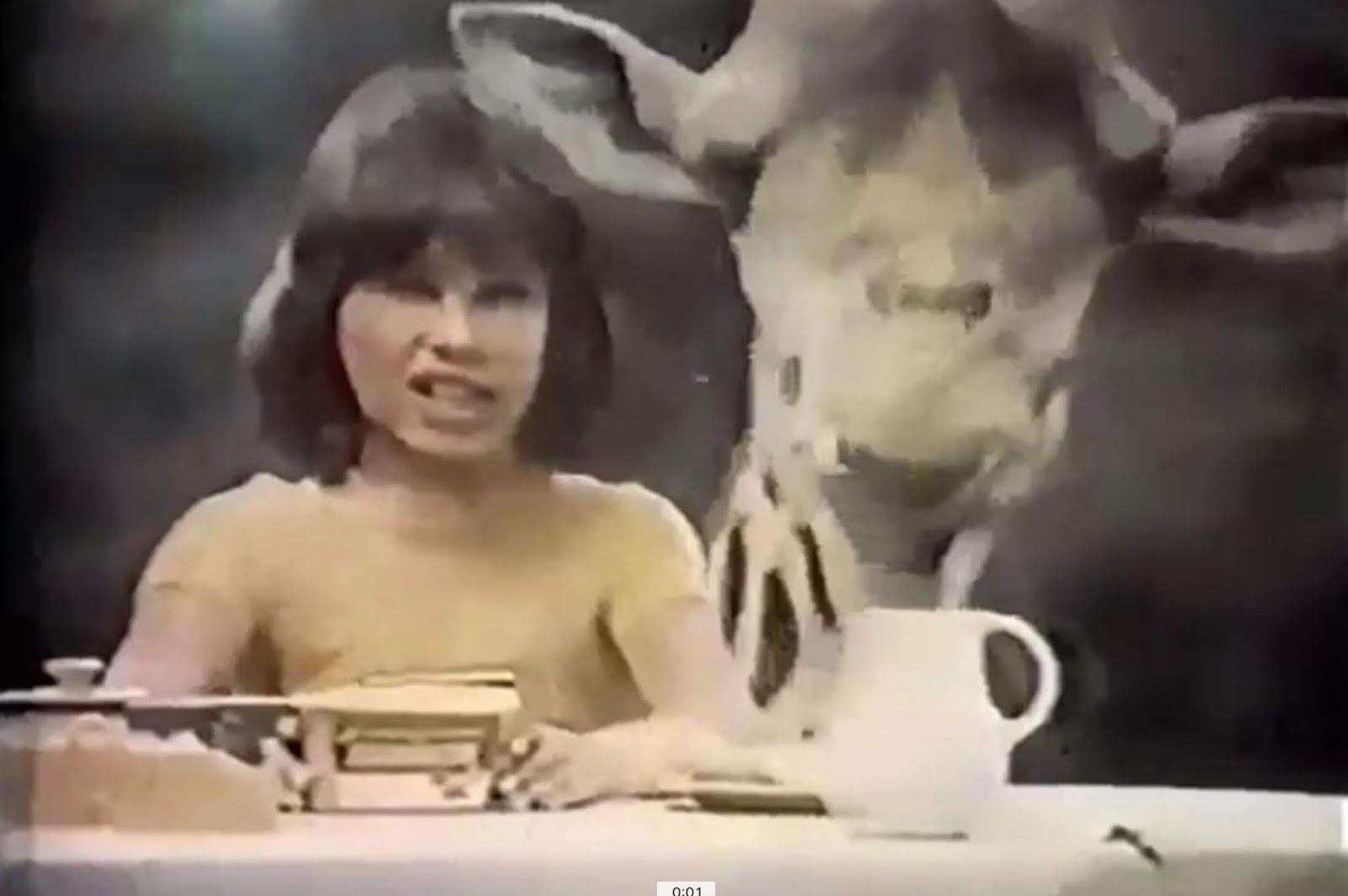 Campanha de lançamento do creme de amendoim Amendocrem em meados dos anos 70