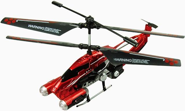 Mô hình Máy bay trực thăng Phantom điều khiển từ xa Skyrover YW858193 màu đỏ hấp dẫn