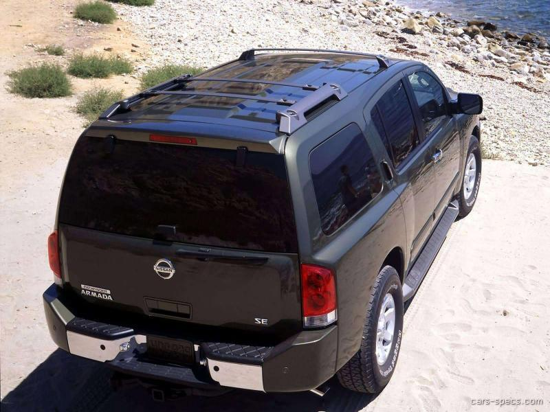 2005 nissan armada suv specifications pictures prices. Black Bedroom Furniture Sets. Home Design Ideas