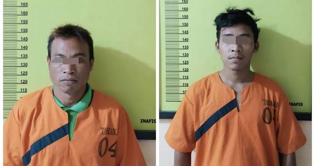 Buron 4 Tahun, Dua Pelaku Pembunuhan Warga Batang Peranap Diringkus