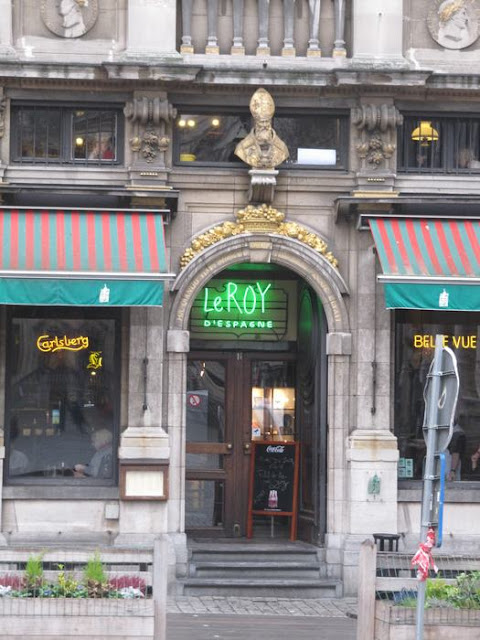 Le roy d´espagne, grand place, Gran Plaza de Bruselas