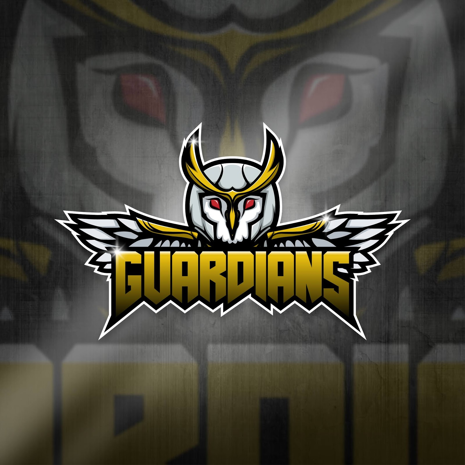 Esports Mascot Logo Team Owl Guardians Squad Free Download Vector CDR, AI, EPS and PNG Formats