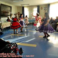 Visita Folclore Hogar San Vicente - Junio 2017