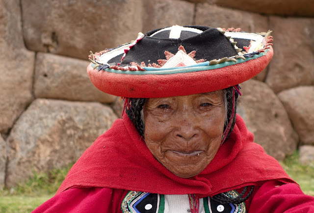 """Inka-Lady"" in Peru"