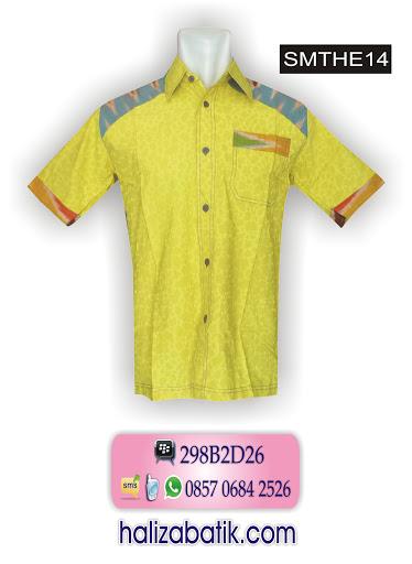 SMTHE14 Baju Batik Muslim, Butik Online, Baju Batik Online, SMTHE14