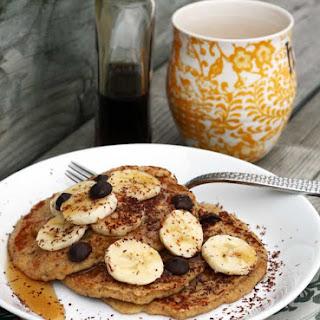 Banana Oat Pancakes.