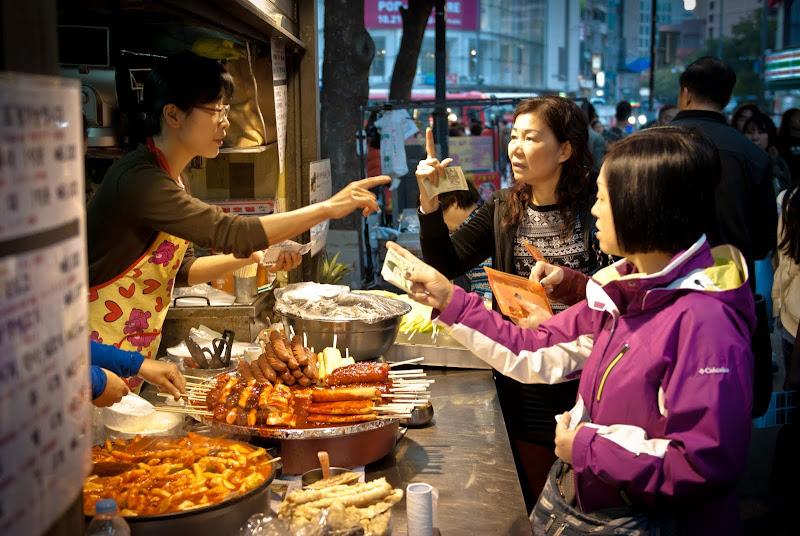 Korea, Seoul, Dongdaemun Market