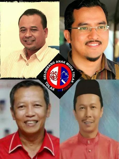#prkpengkalankubor Gelombang Anak Muda Tolak Umno