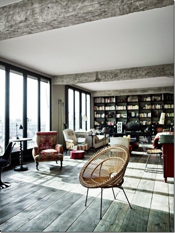 loft-stile-industriale-francese-pareti-vetrate-1