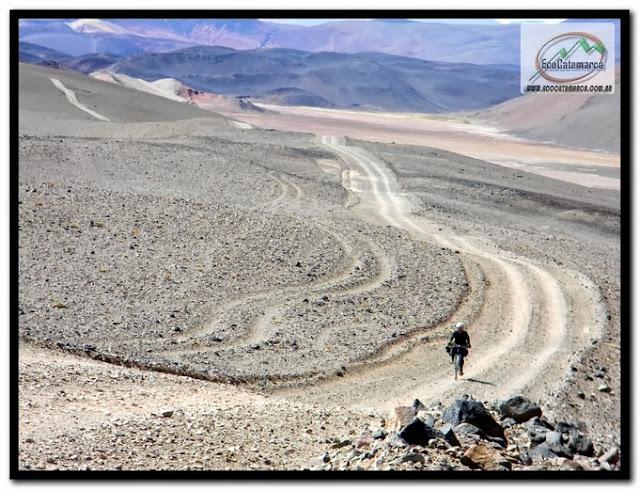 Viaje por la quebrada del diablo en Antofagasta de la Sierra - Catamarca