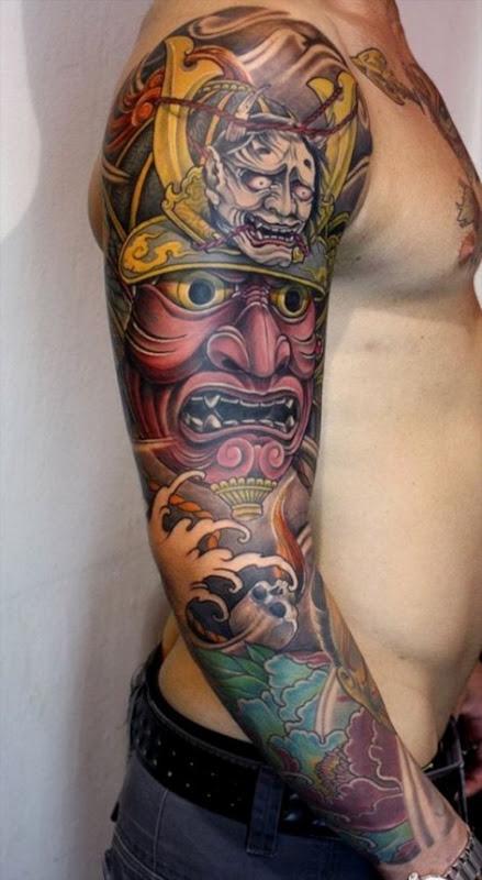oni_mscara_de_tatuagem