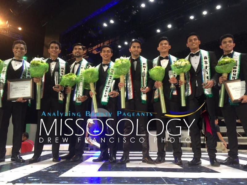 Misters of Filipinas 2016 winners