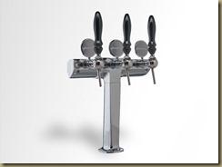 CONDOR пивная колонна из Италии - три сорта пива