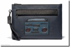 Glovetan Zip Card Case in Boombox Midnight (28719 NGR)