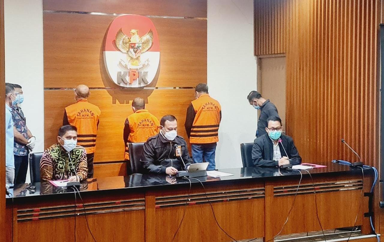 Ketua KPK : OTT Sulsel, KPK Tetapkan Tahan 2 Tersangka Penerima dan 1 Tersangka Pemberi